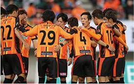 J2リーグレノファ山口FCへのサポート
